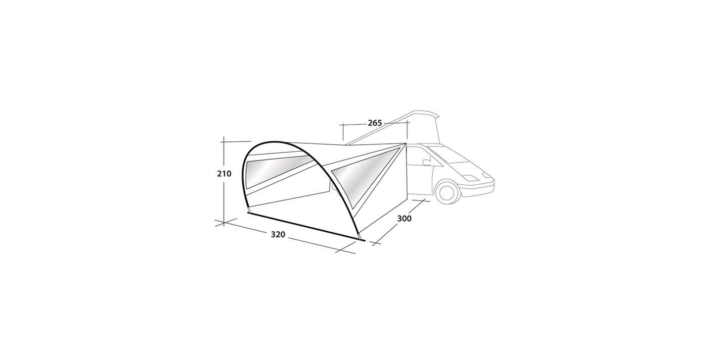 Outwell Touring Canopy specifications
