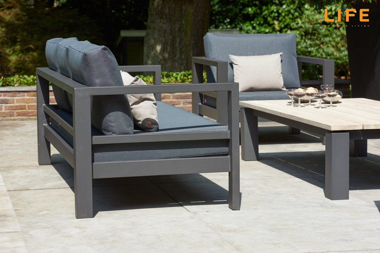 Life Outdoor Living Delta Lava Set 2018