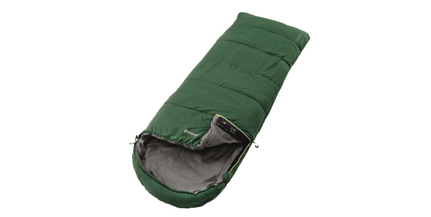 Outwell Campion Lux Sleeping Bag - Green