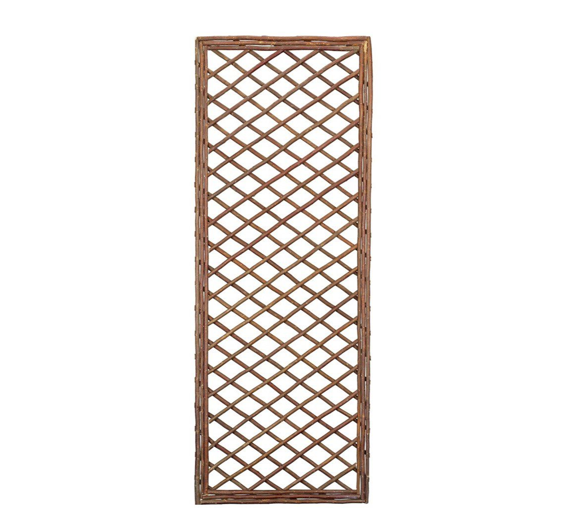 Gardman 1.8m x 0.6m Framed Willow Trellis Panel