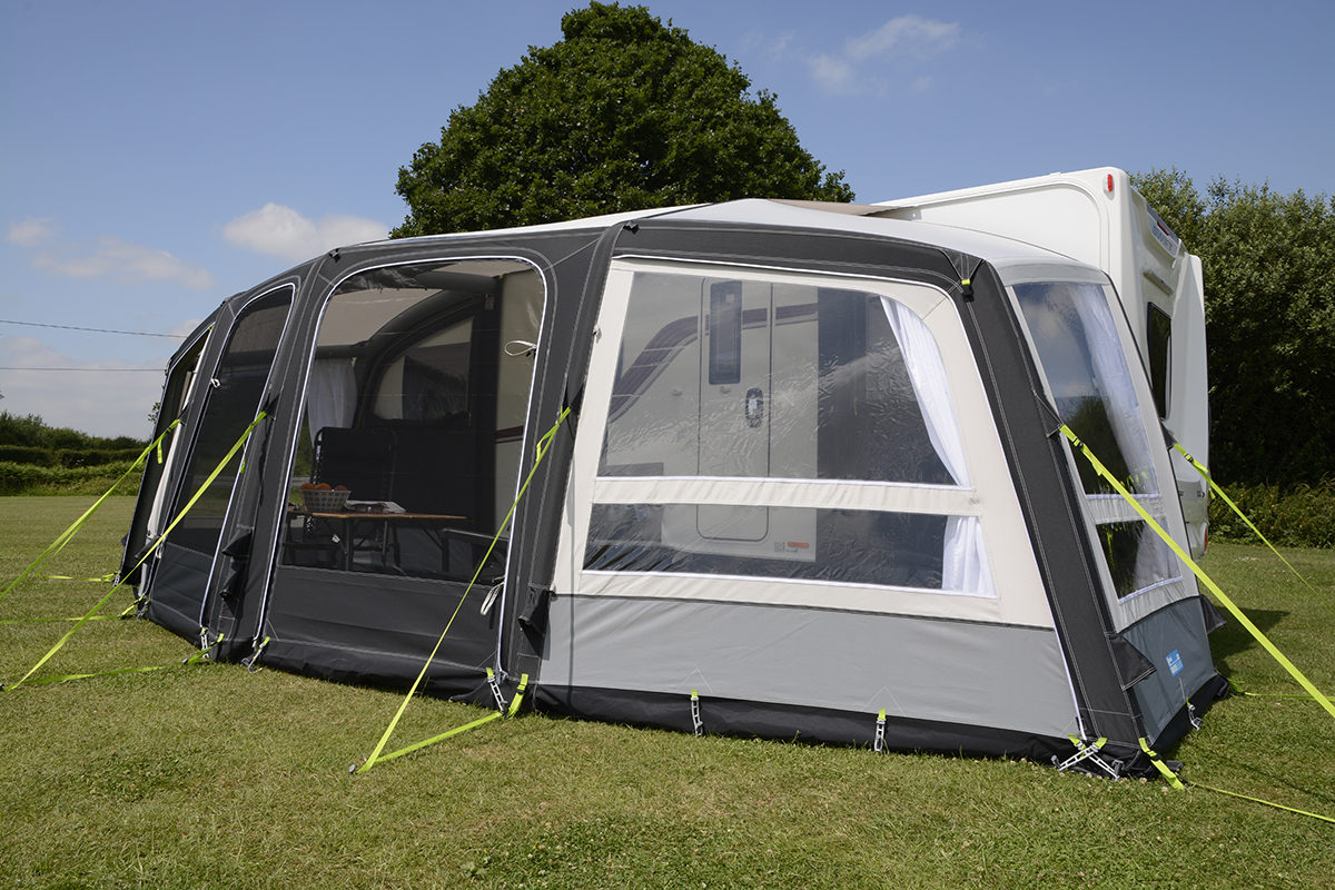 Kampa Frontier Air Pro 300 Awning 2018 17