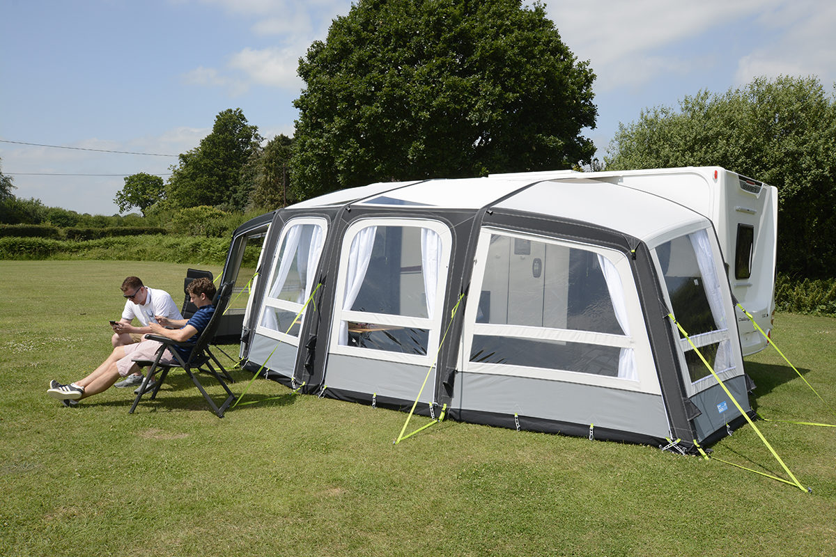 Kampa Frontier Air Pro 300 Awning 2018 12
