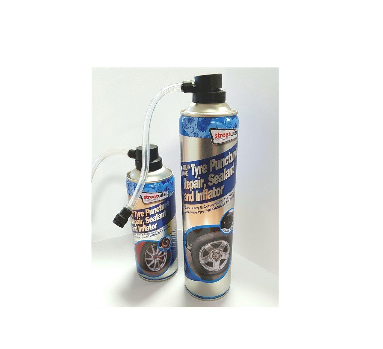 Streetwize Tyre puncture repair sealer/ inflator