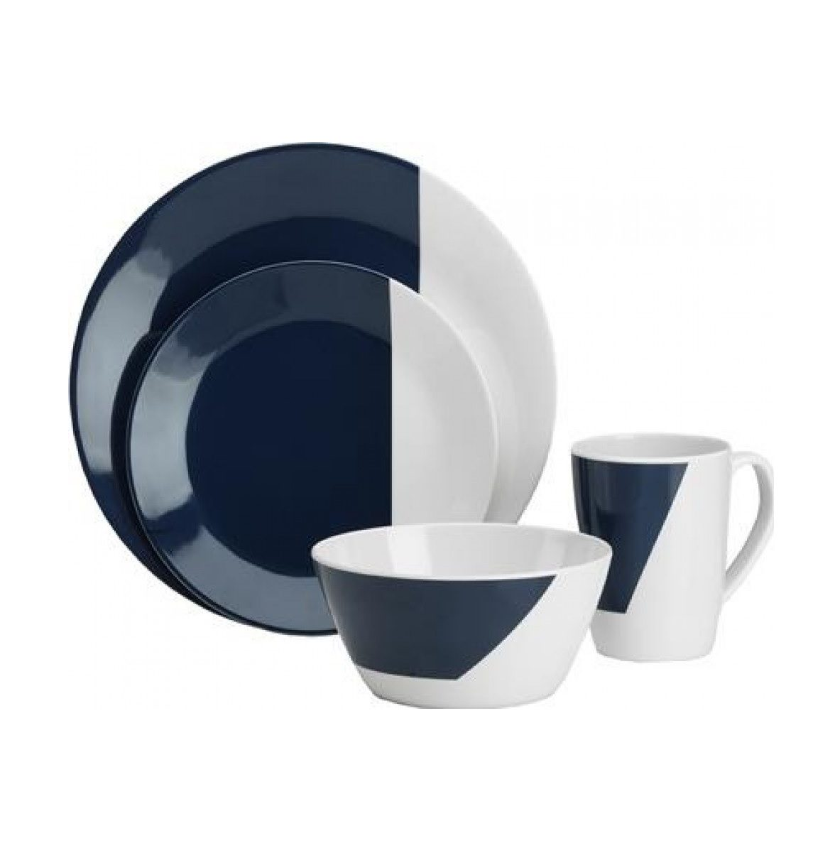 Flamefield Eclipse 16 Piece Melamine Set