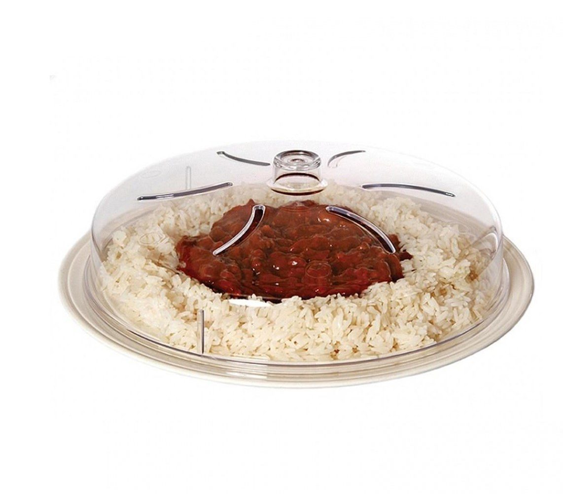 Grove non stain microwave splatter lid