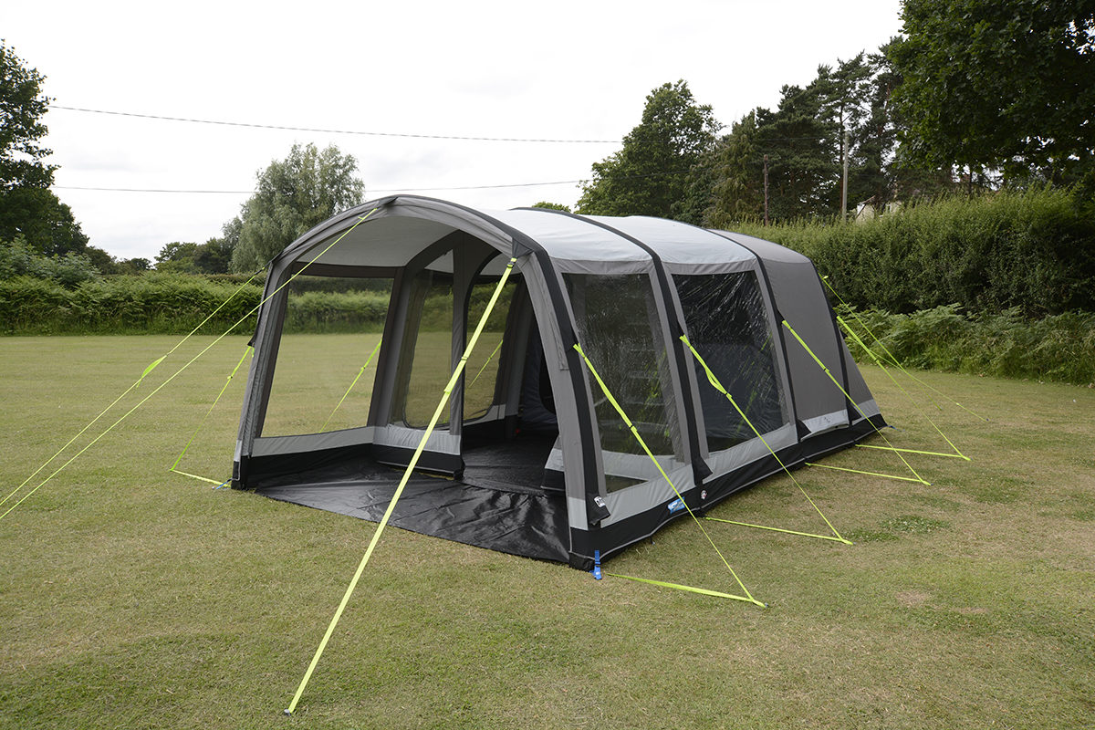 K&a Hayling 4 Classic Air Pro 2018 1 & Kampa Hayling 4 Classic Air Pro Tent 2018 | Inflatable Tents ...