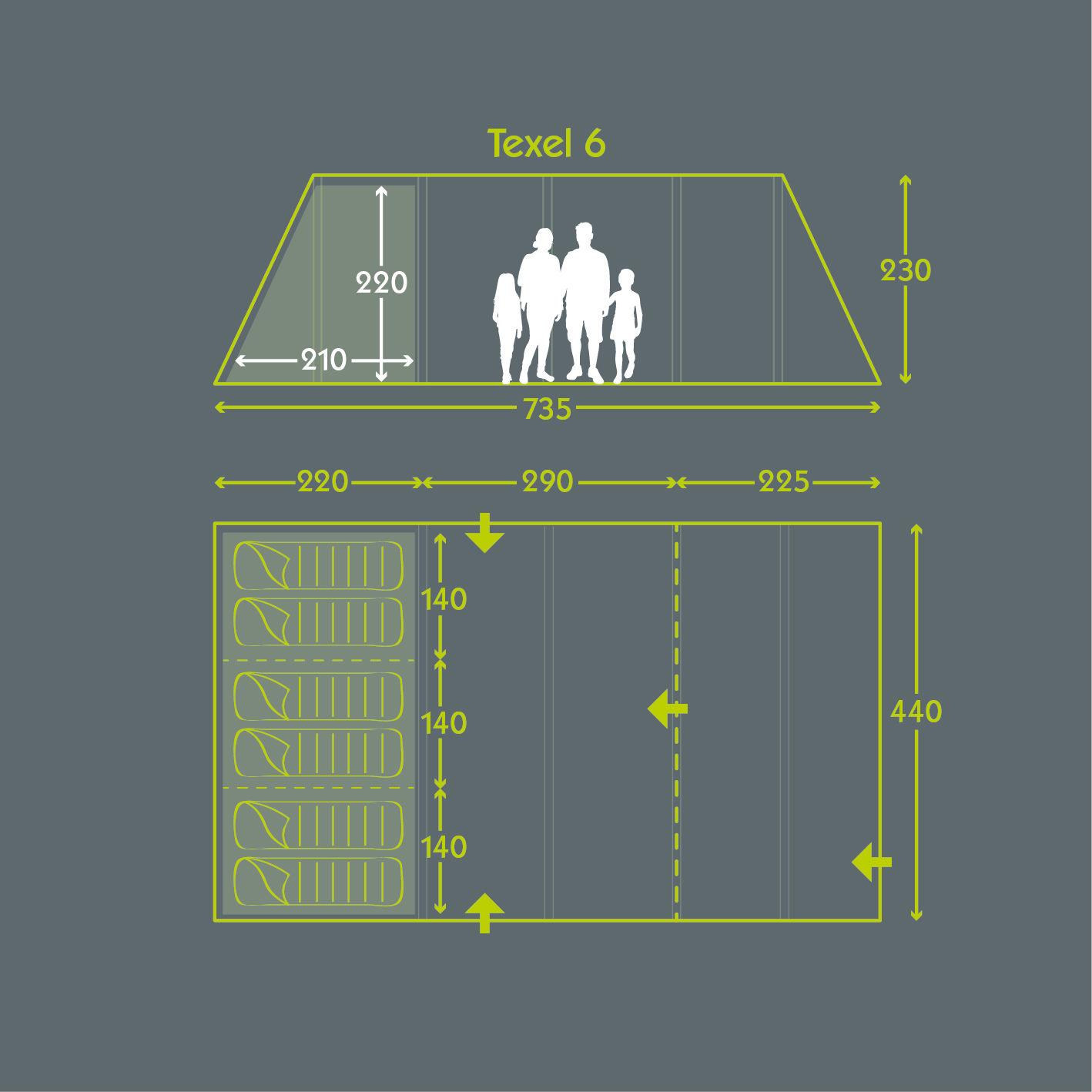 Tent Floor Plan Texel 6
