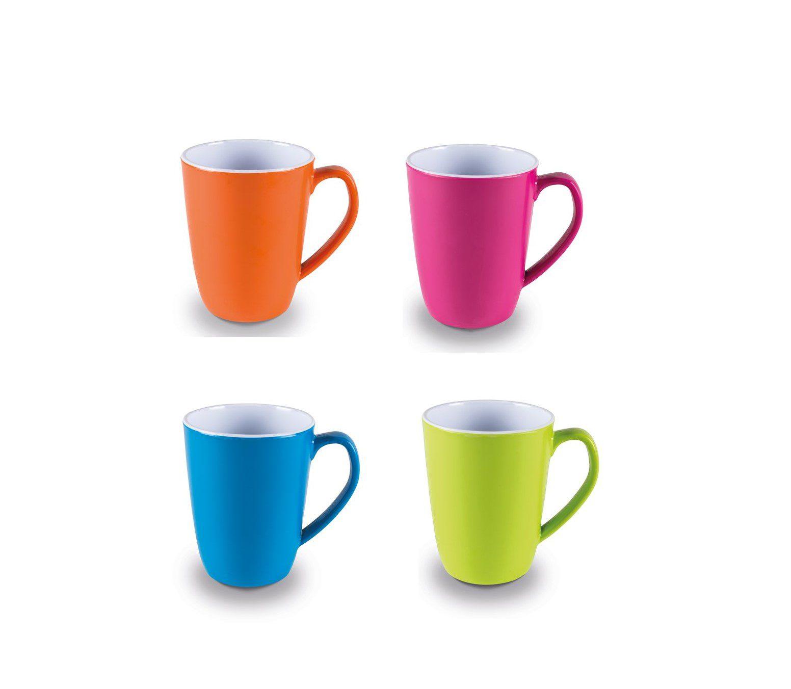 Kampa Summer Mug Set - Mixed Colour