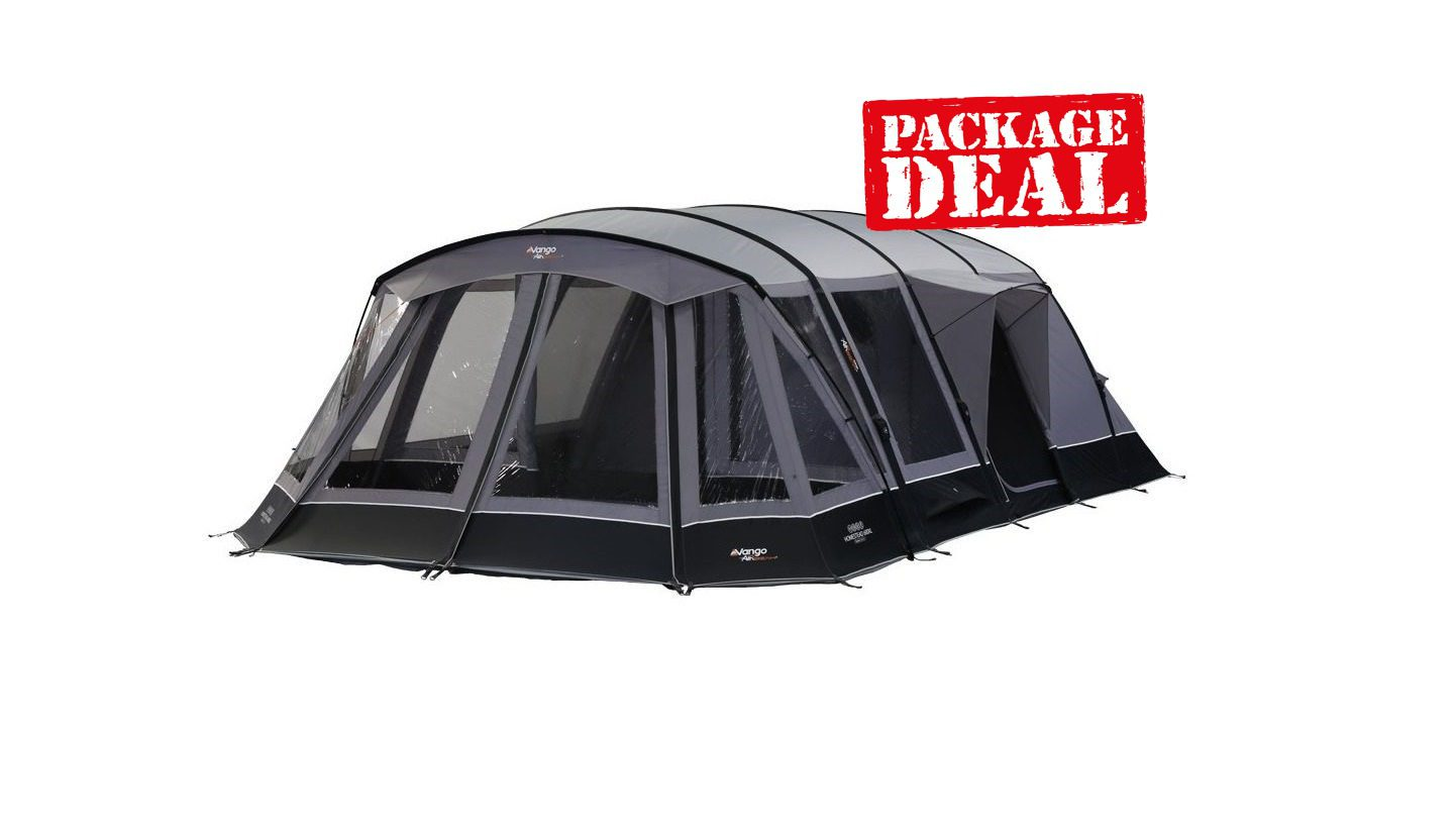 Vango Homestead 600Xl Airbeam Tent 2018 Package Deal