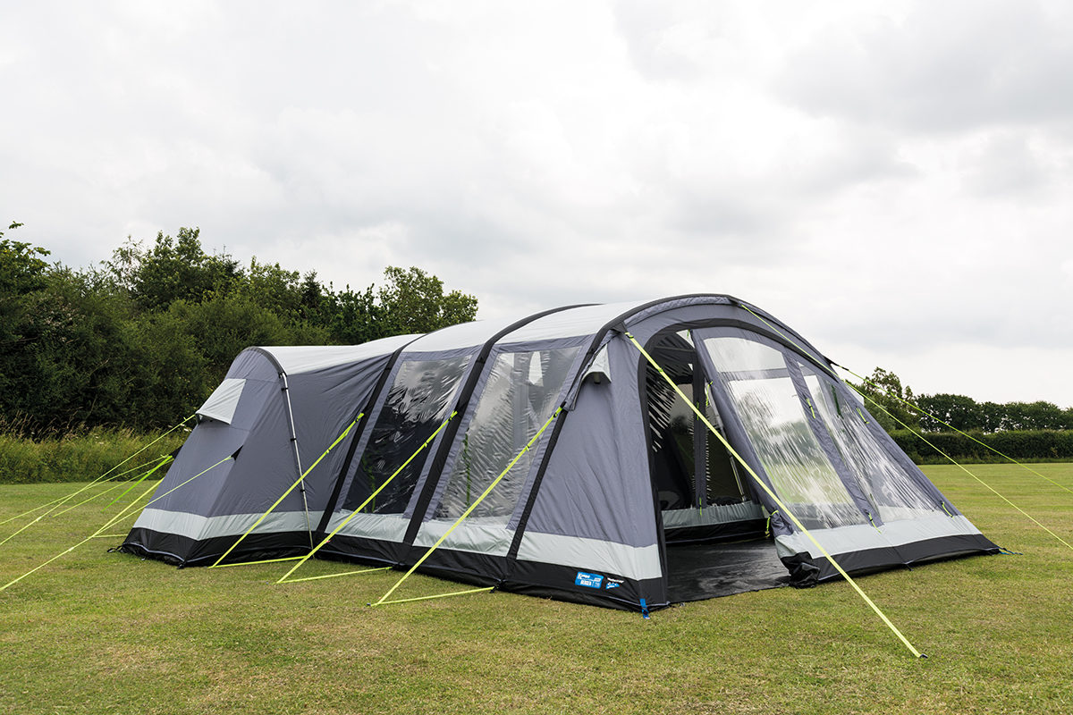 Kampa Bergen 6 Air Pro Tent 2018 10