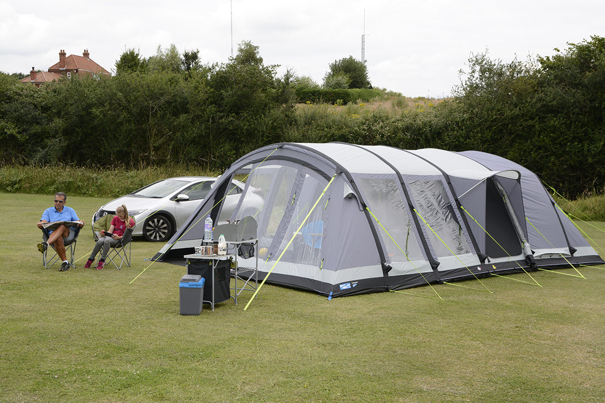 Kampa Bergen 6 Air Pro Tent 2018 12