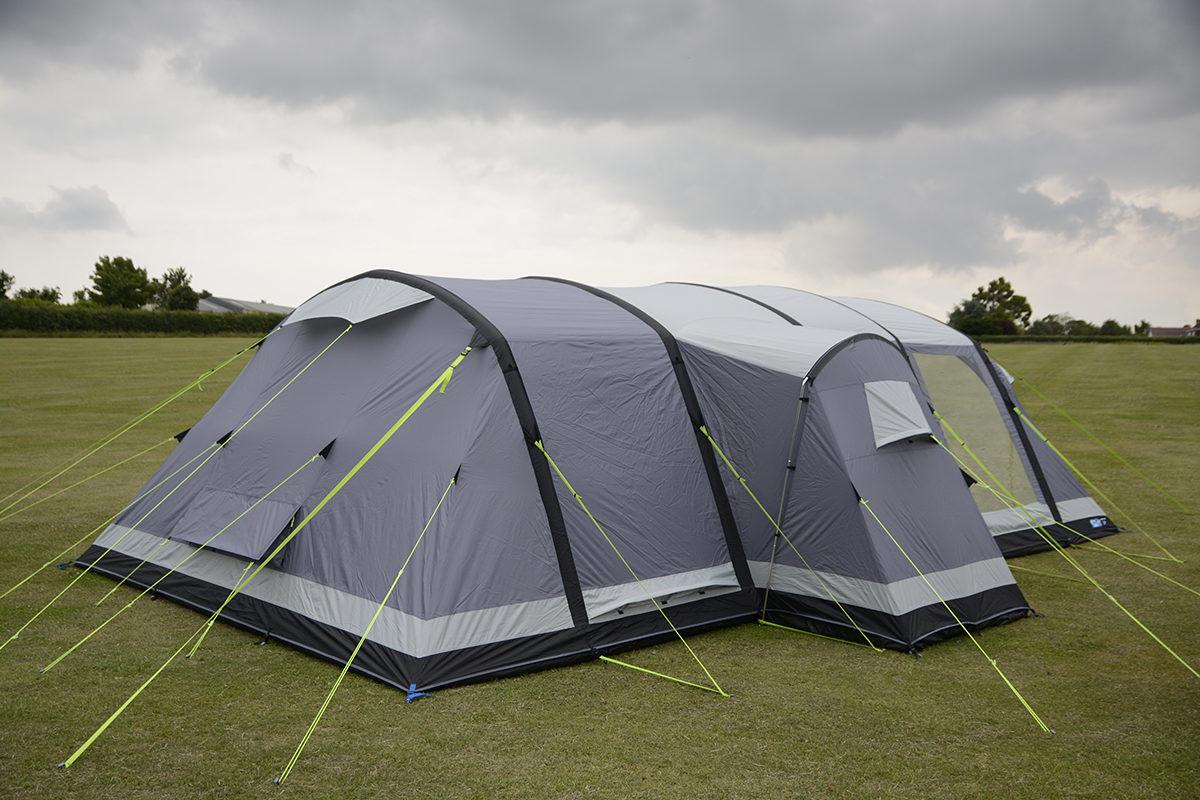 Kampa Bergen 6 Air Pro Tent 2018 17