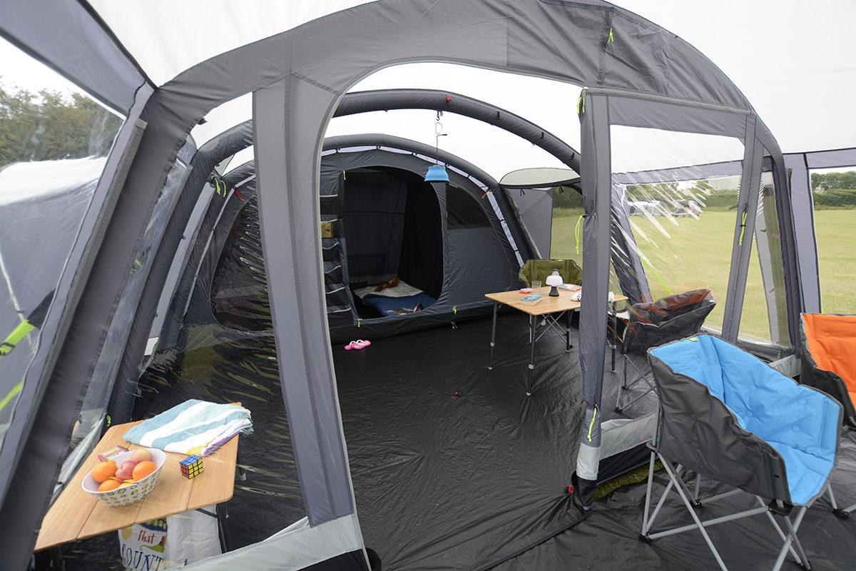 Kampa Bergen 6 Air Pro Tent 2018 20