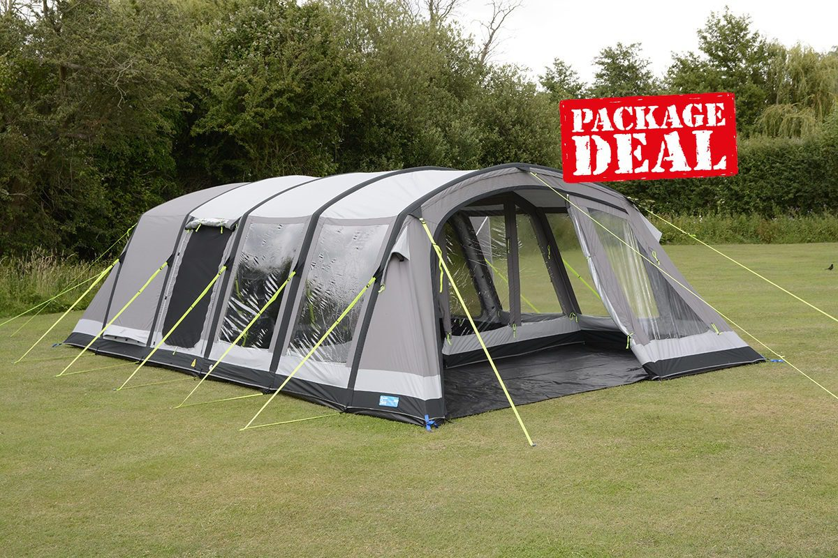 Kampa Croyde 6 Classic Air Pro Package Deal