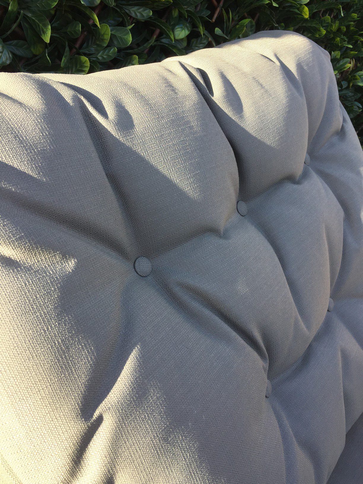 4 Seasons Outdoor Valentine Love Seat With Footrest 9