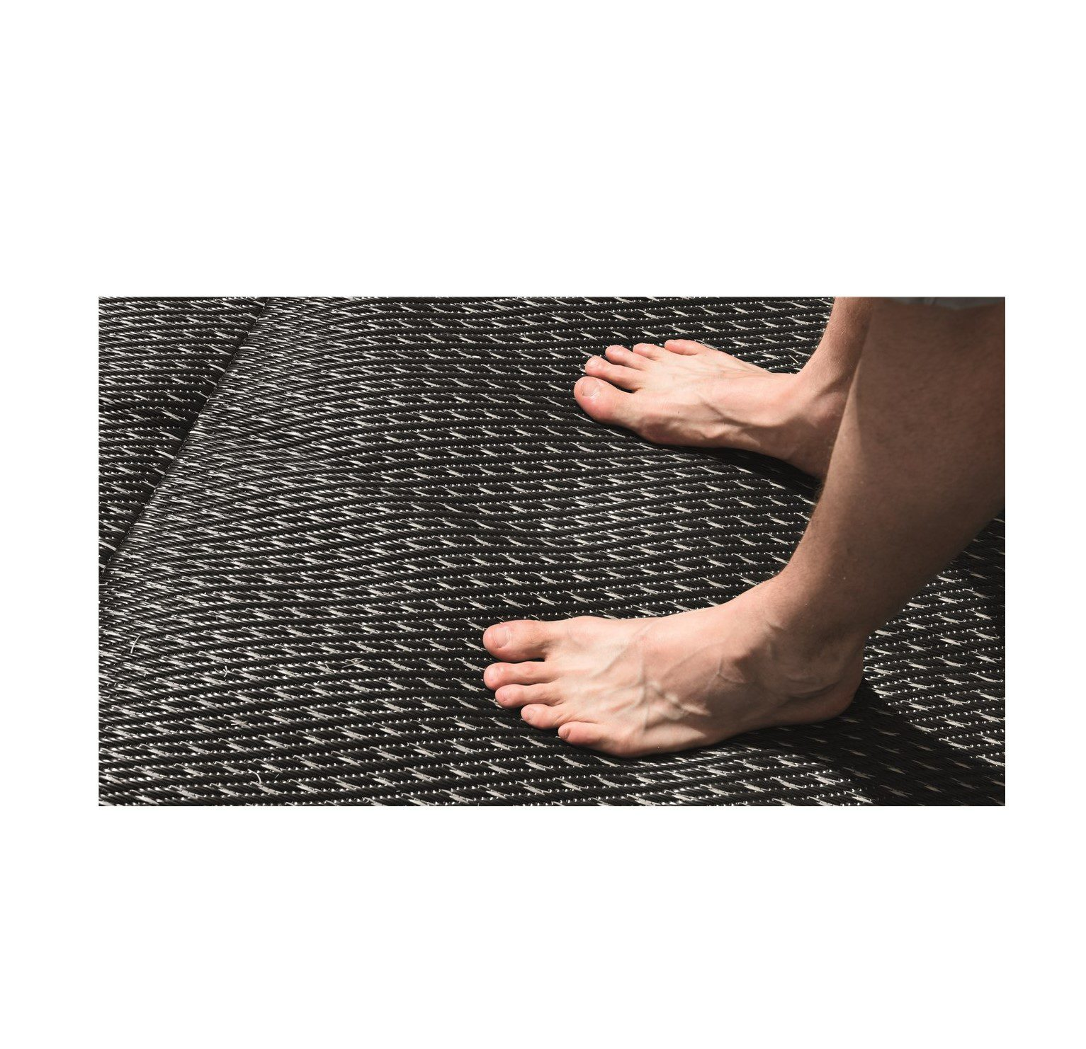 Outwell Tide continental carpet dark side