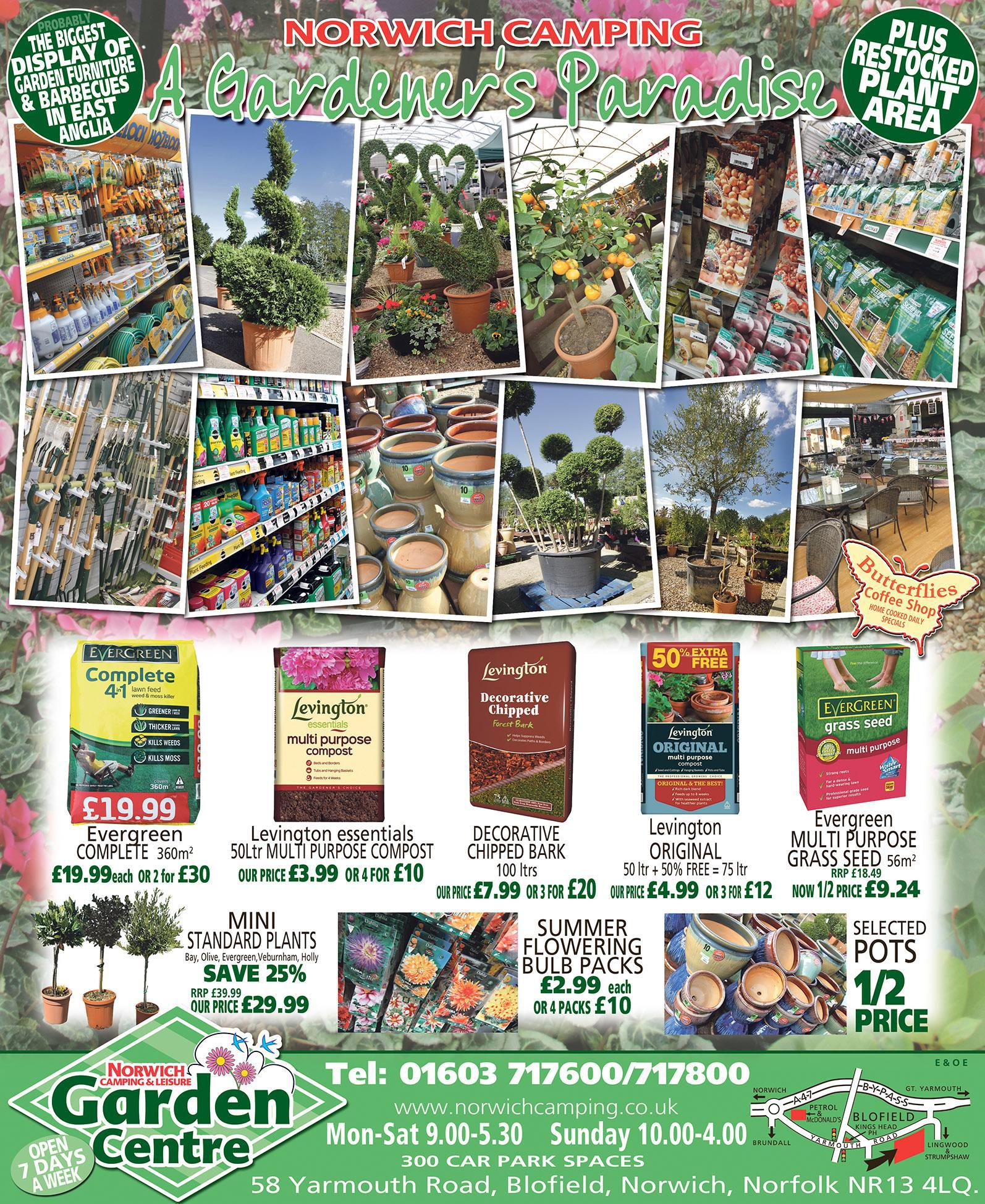 2018 Garden Centre Ad - Full Page