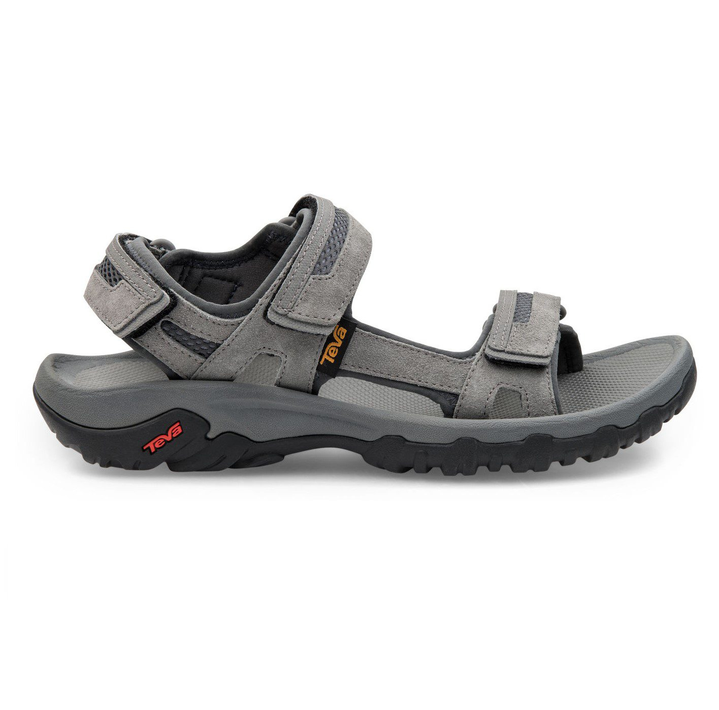 Mens Hudson Sandal - charcoal grey