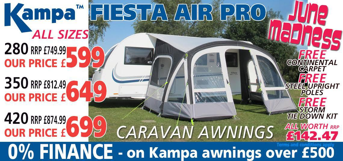 Kampa Fiesta Air Pro June Madness