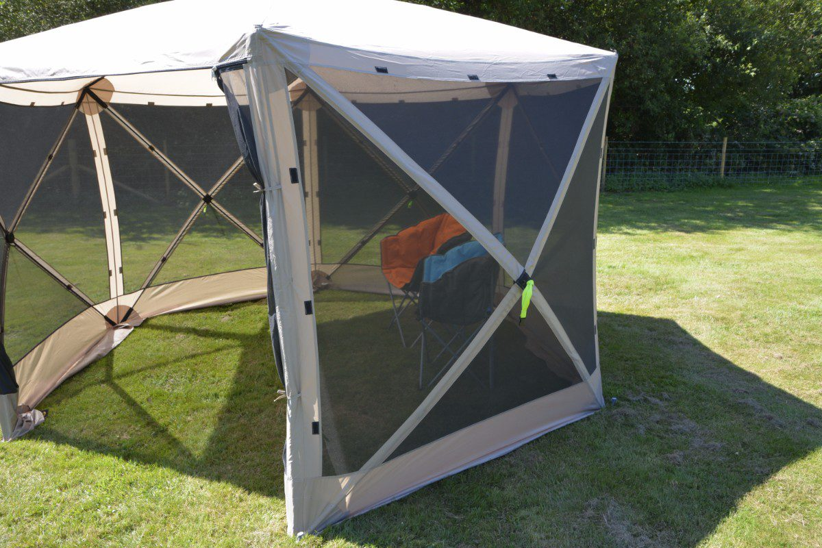 Kampa Pop Up Screen House Hex 350 Utility Tents