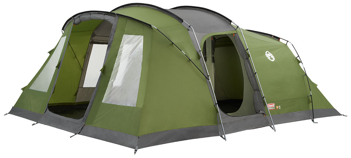 Coleman Kingsley 6 Tent 2018 6 Person Poled Tents