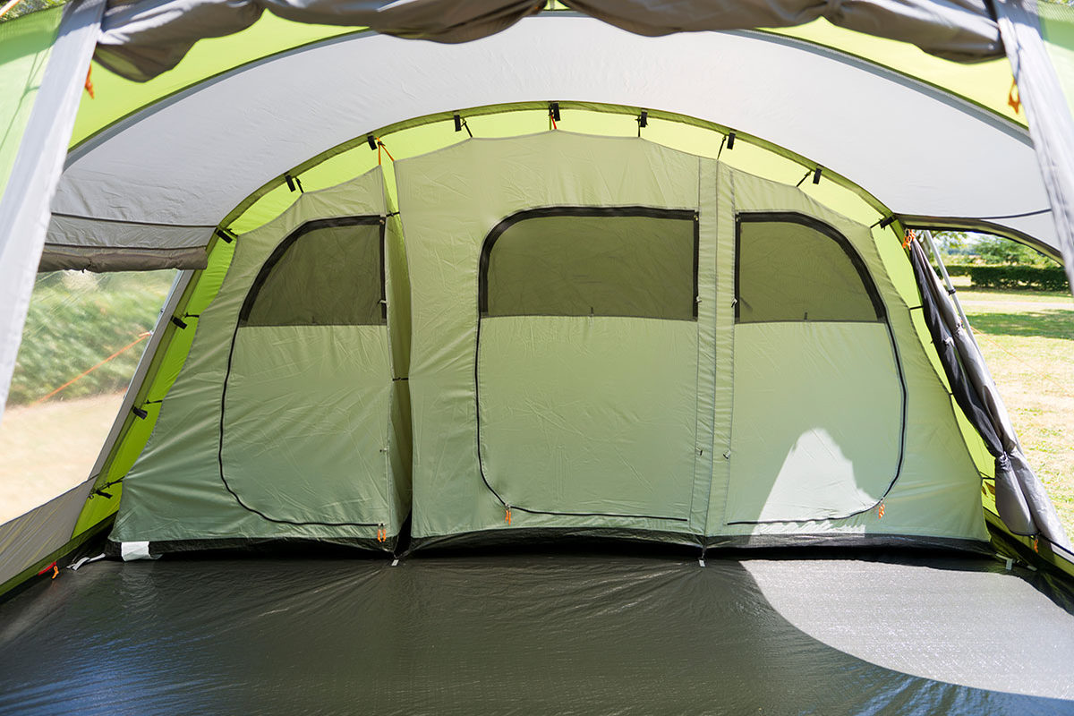 Coleman Kingsley 6 Tent 2018 | 6+ Person Poled Tents | Norwich Camping