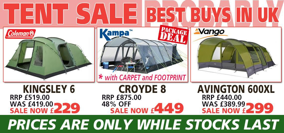July Tent Sale