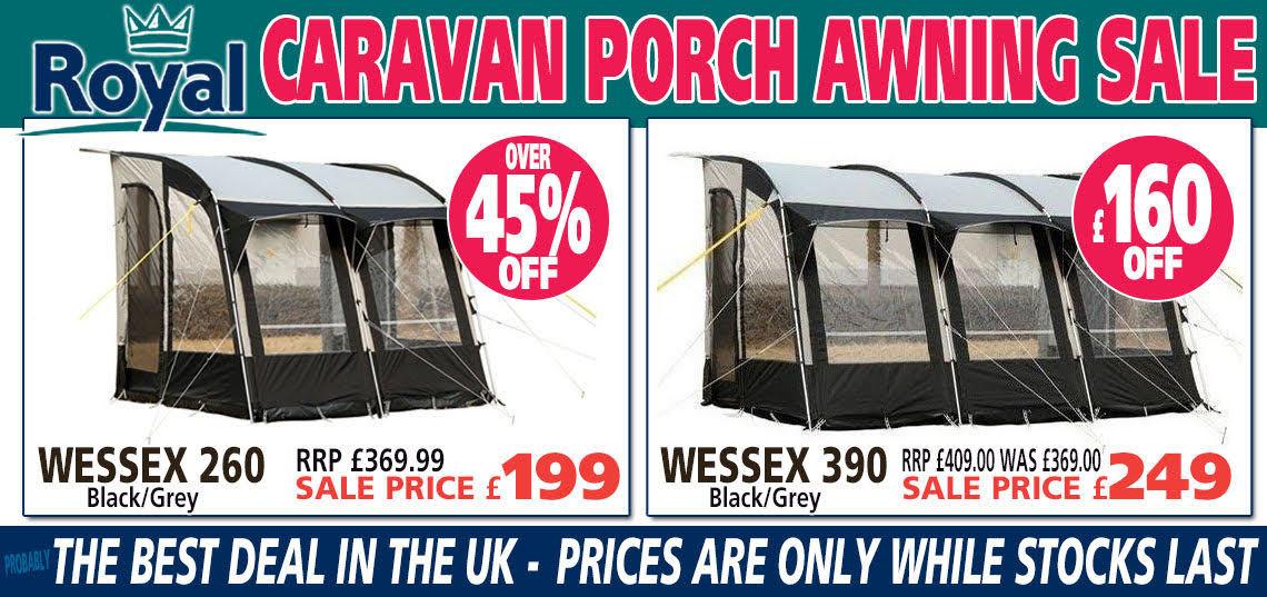 Royal Caravan Porch Awning Sale