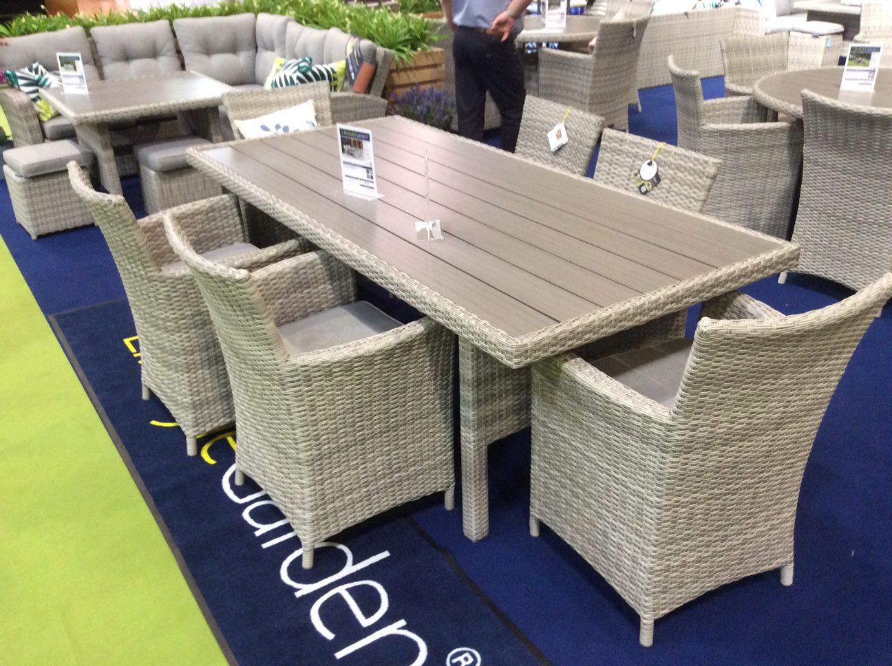 Lifestyle Garden Rectangular Aruba 6 Seat Set