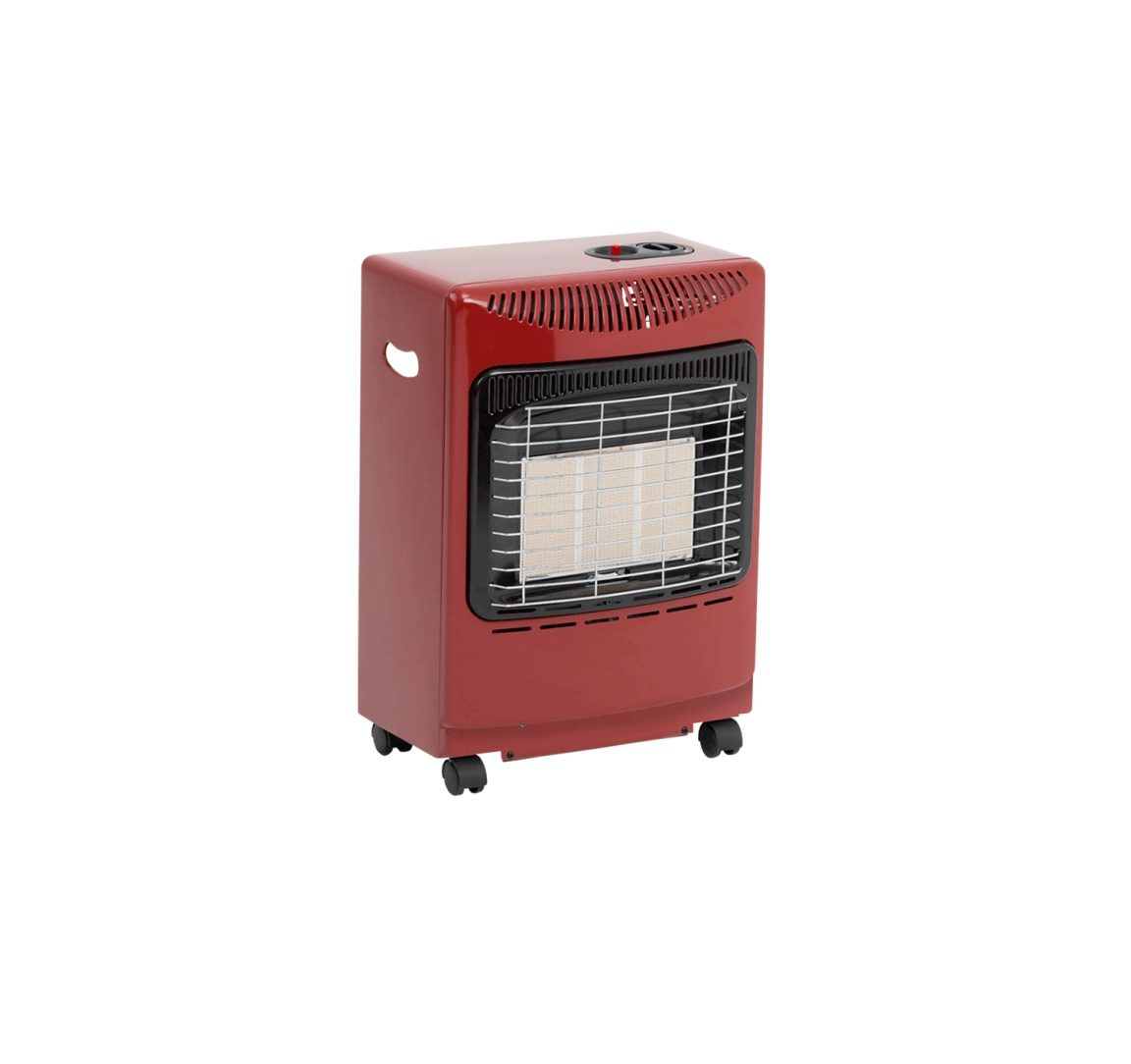 Lifestyle Red Mini Heat Force Heater