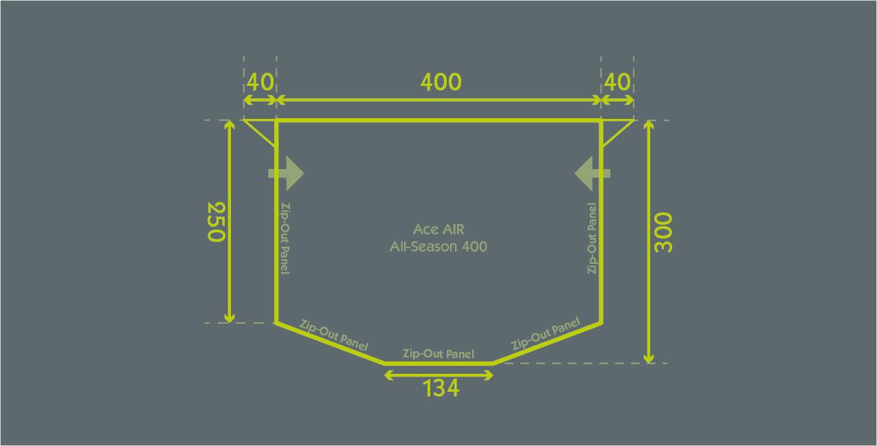 Ace Air All Season 400 Floor Plan