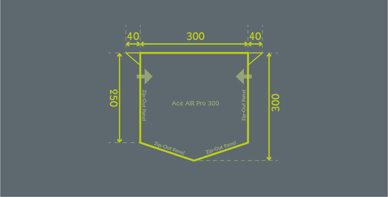 Ace Air Pro 300 Floor Plan