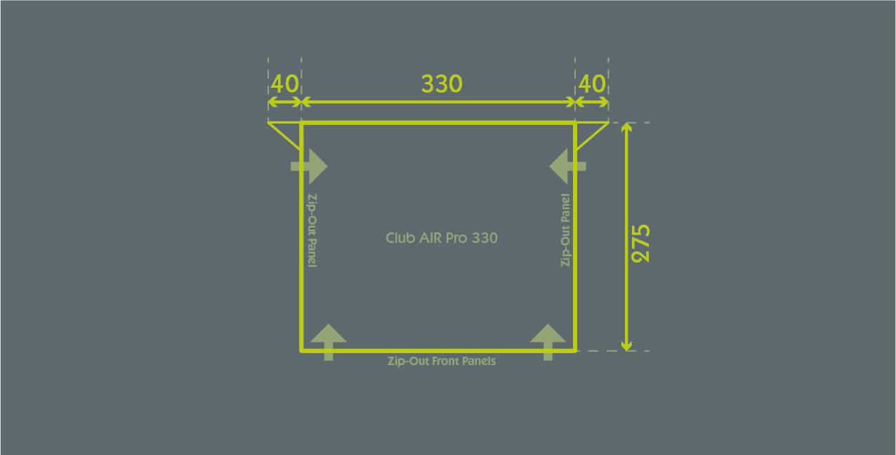 Club Air Pro 330 Floor Plan
