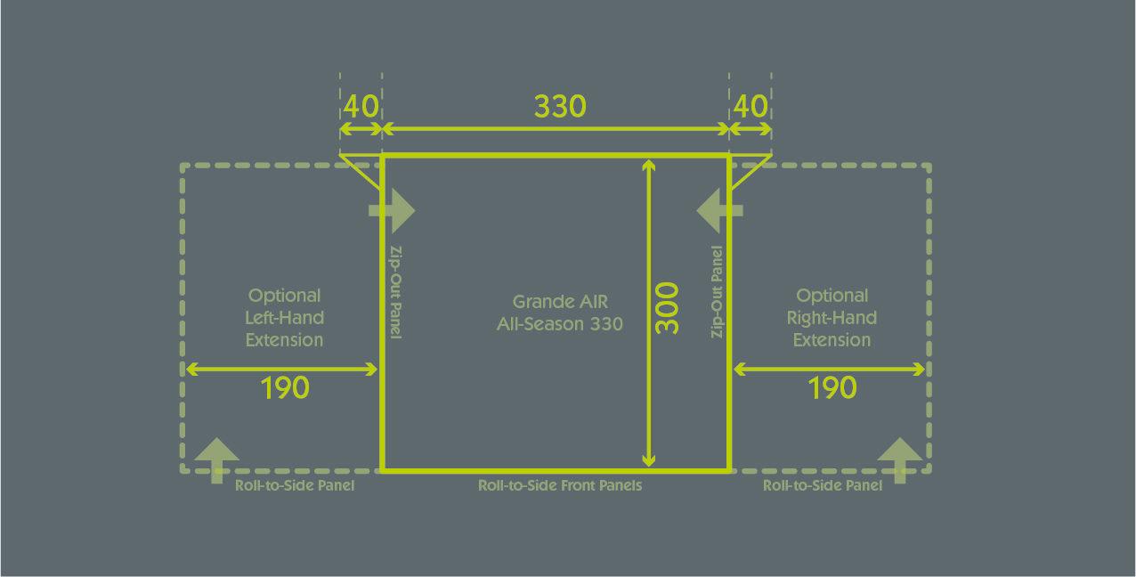 Grande Air All Season 330 Floor Plan