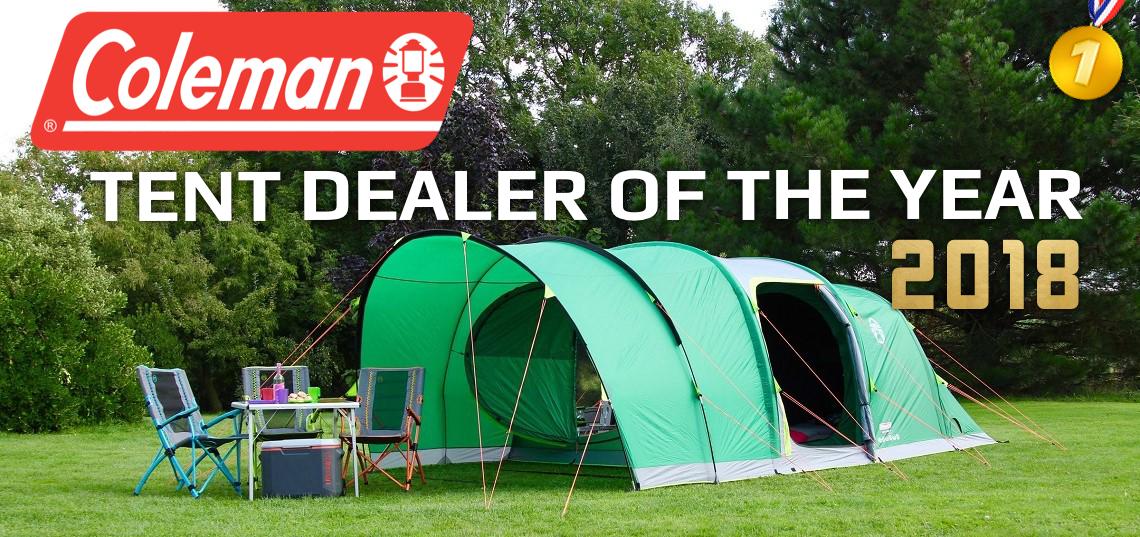 coleman tent dealer