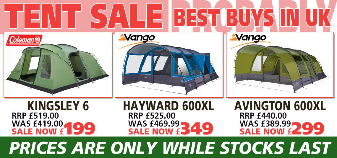 Tent Sale Banner