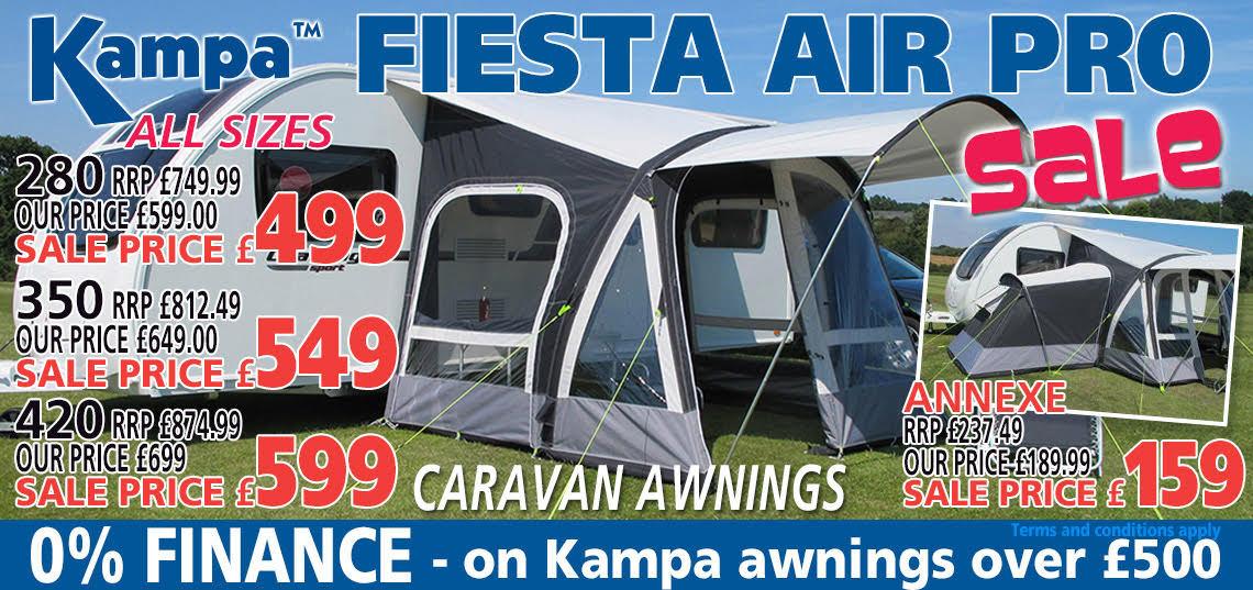 Kampa Fiesta Sale Banner