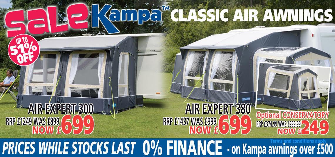 Kampa Classic Air Expert Banner