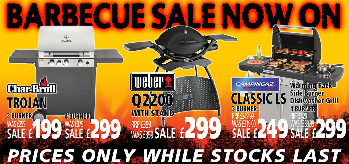 BBQ Sale Now On