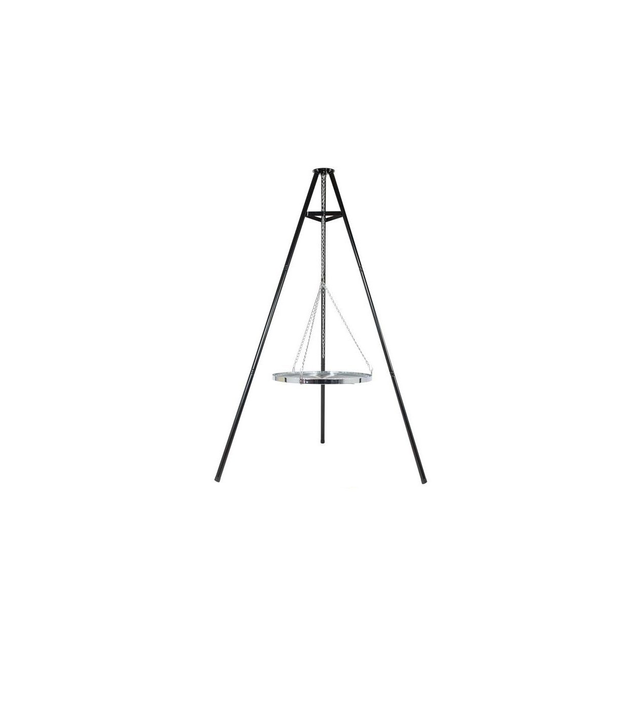 La Hacienda Deluxe Hanging Tripod with Grill