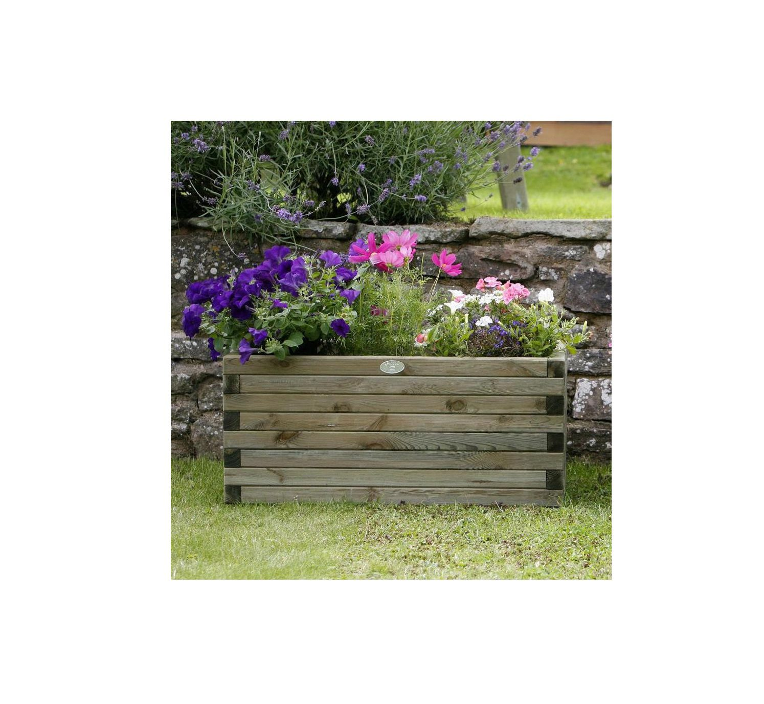 Hutton Rectangular Planter Large