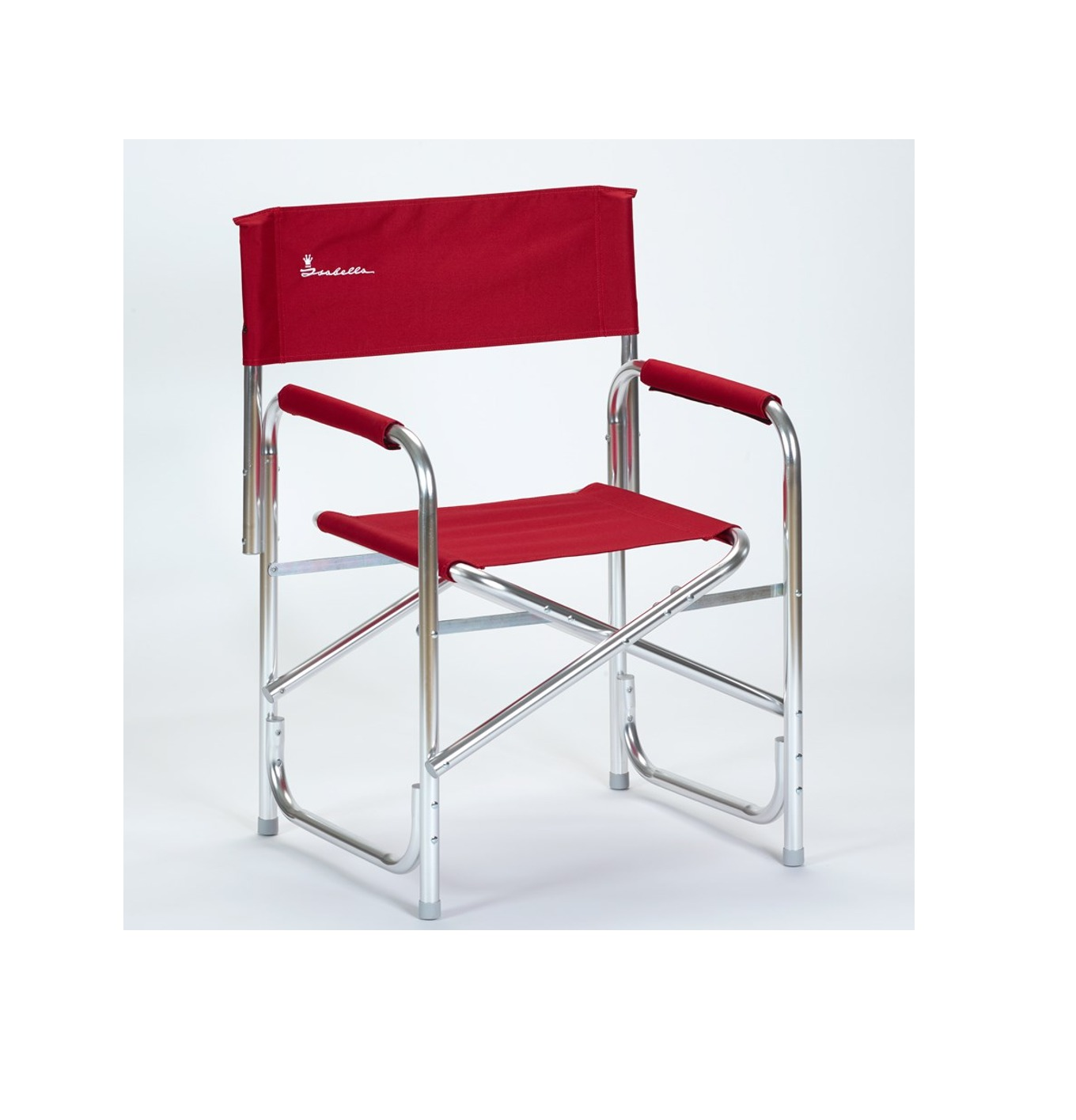 Isabella Directors Chair With Aluminium Frame Red P2577 4967 Zoom