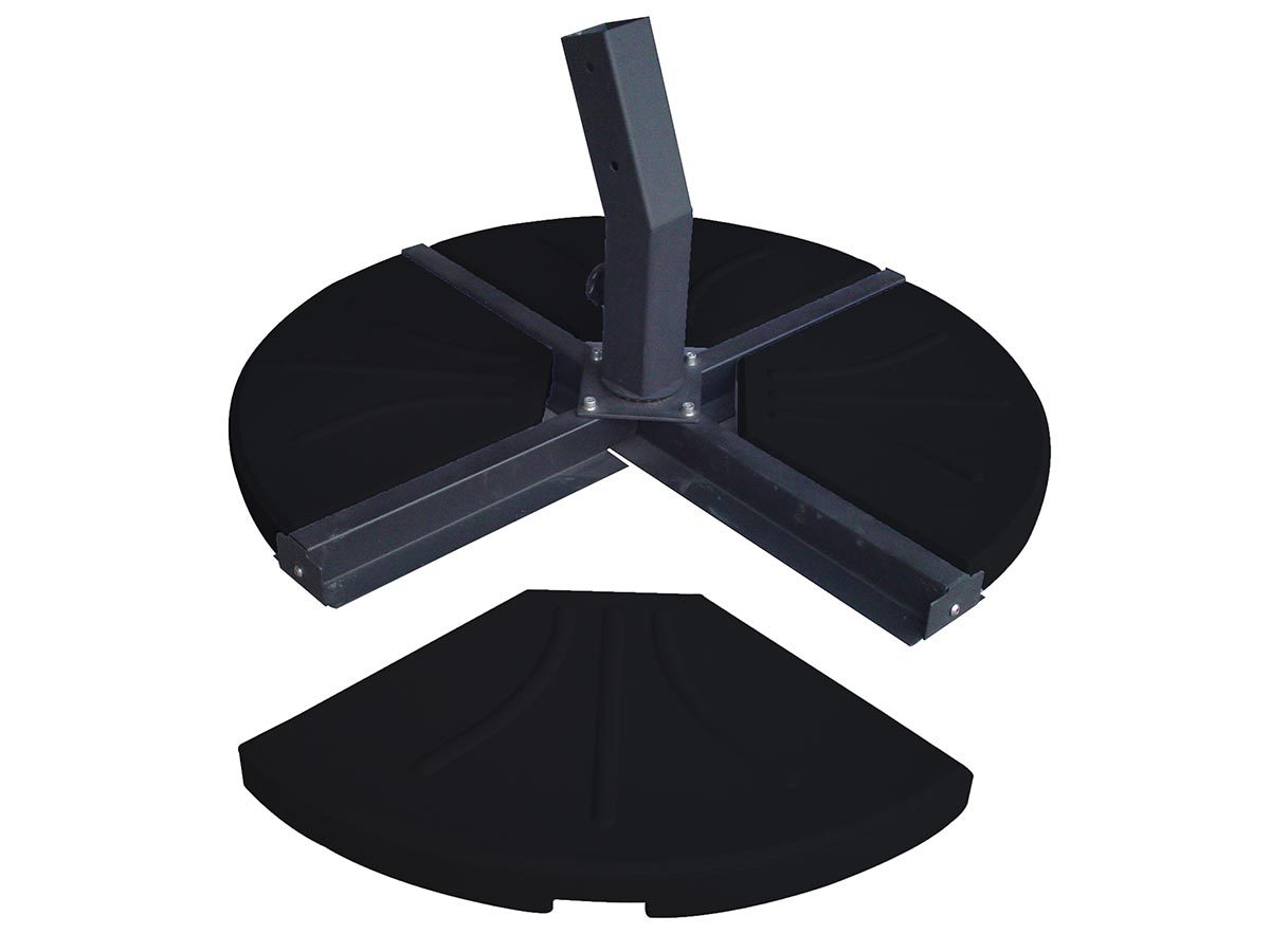 Norfolk Leisure Cantilever Parasol Base - 80Kg