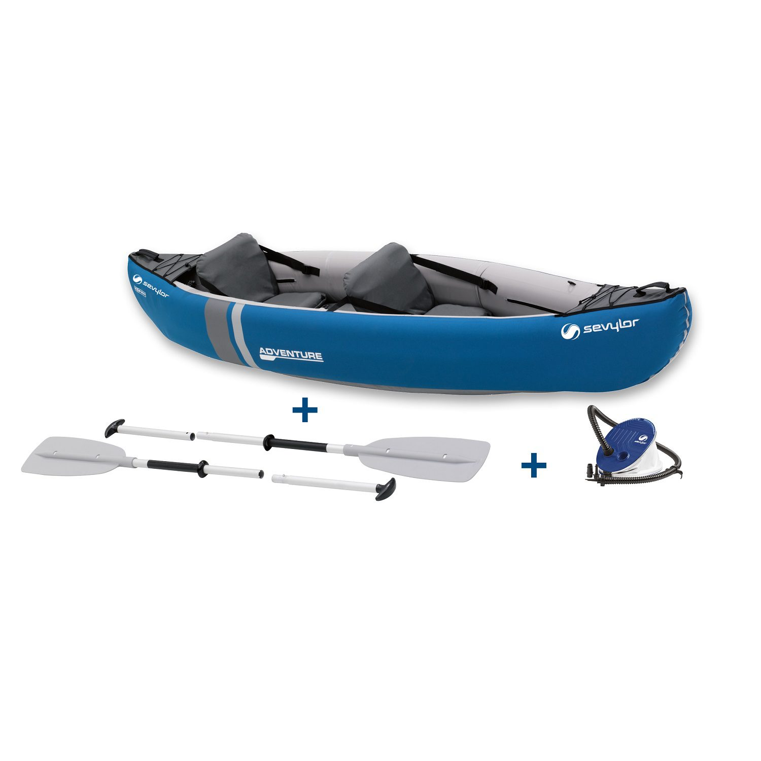 Sevylor Adventure Kit Inflatable Canoe - 2000009548