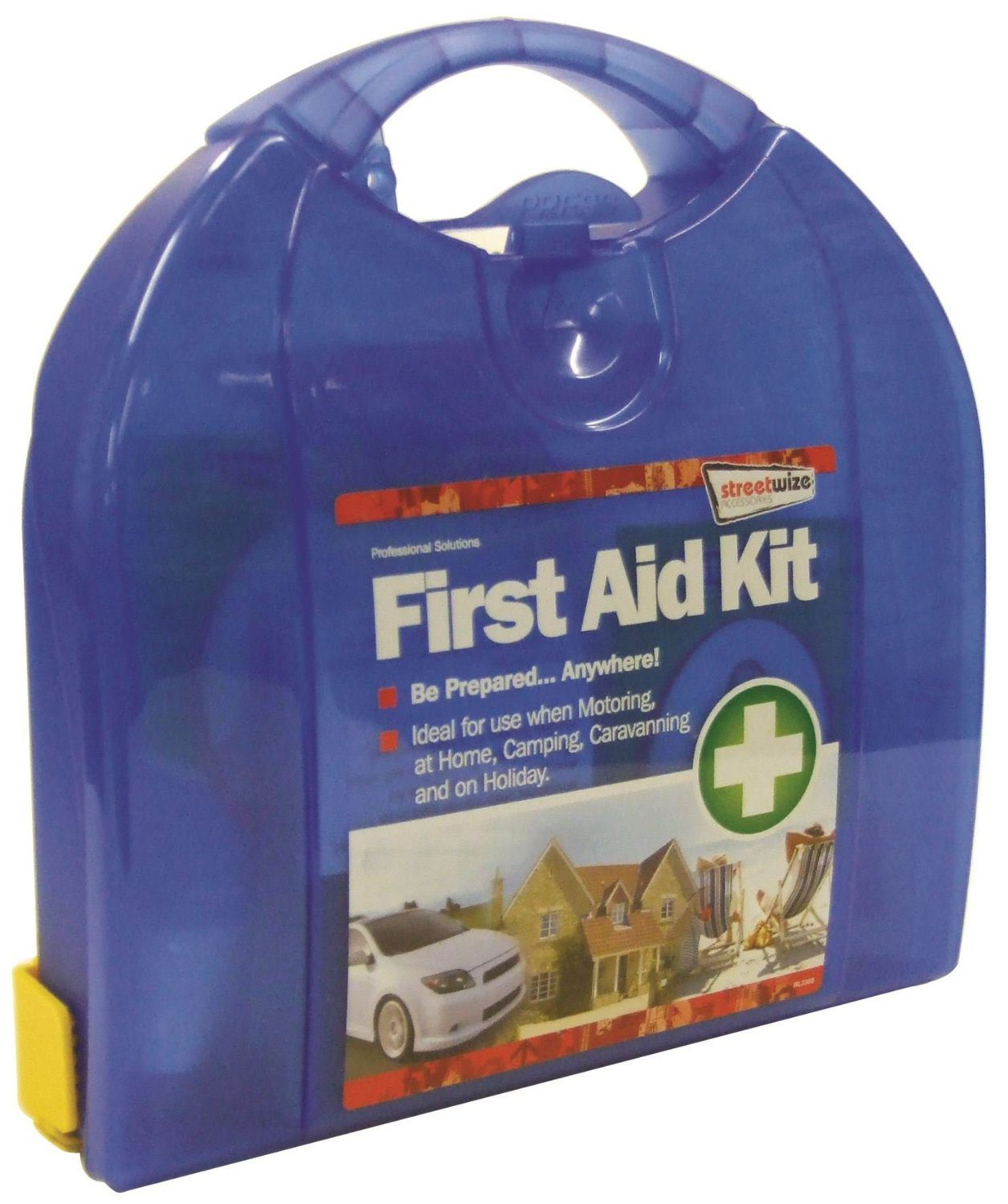 Streetwize FAK2 First Aid Kit Deluxe with Mounting Bracket