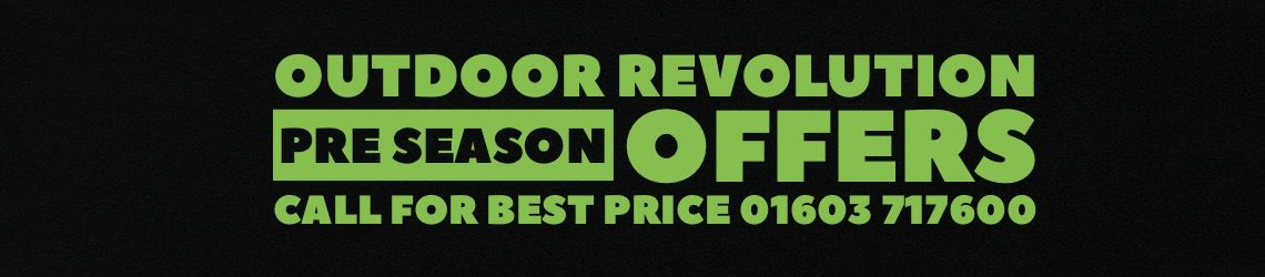 Outdoor Revolution Pre Season Banner