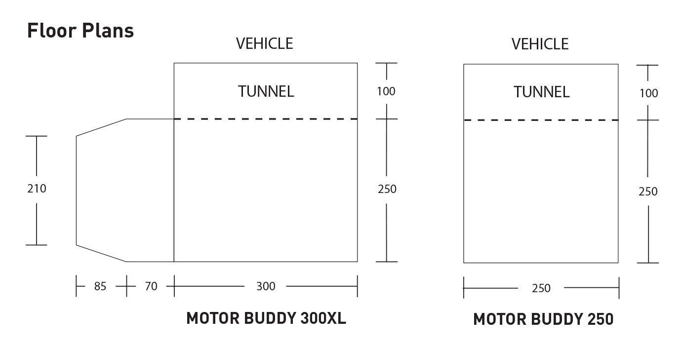 Motor Buddy 250 300Xl Floor Plans