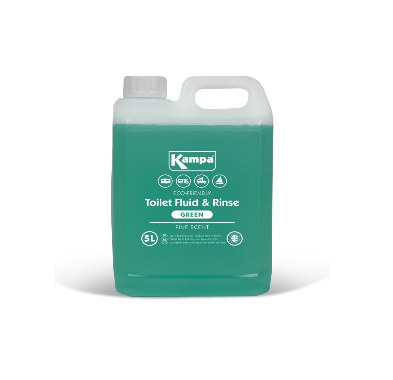 kampa toilet fluid and rinse 5