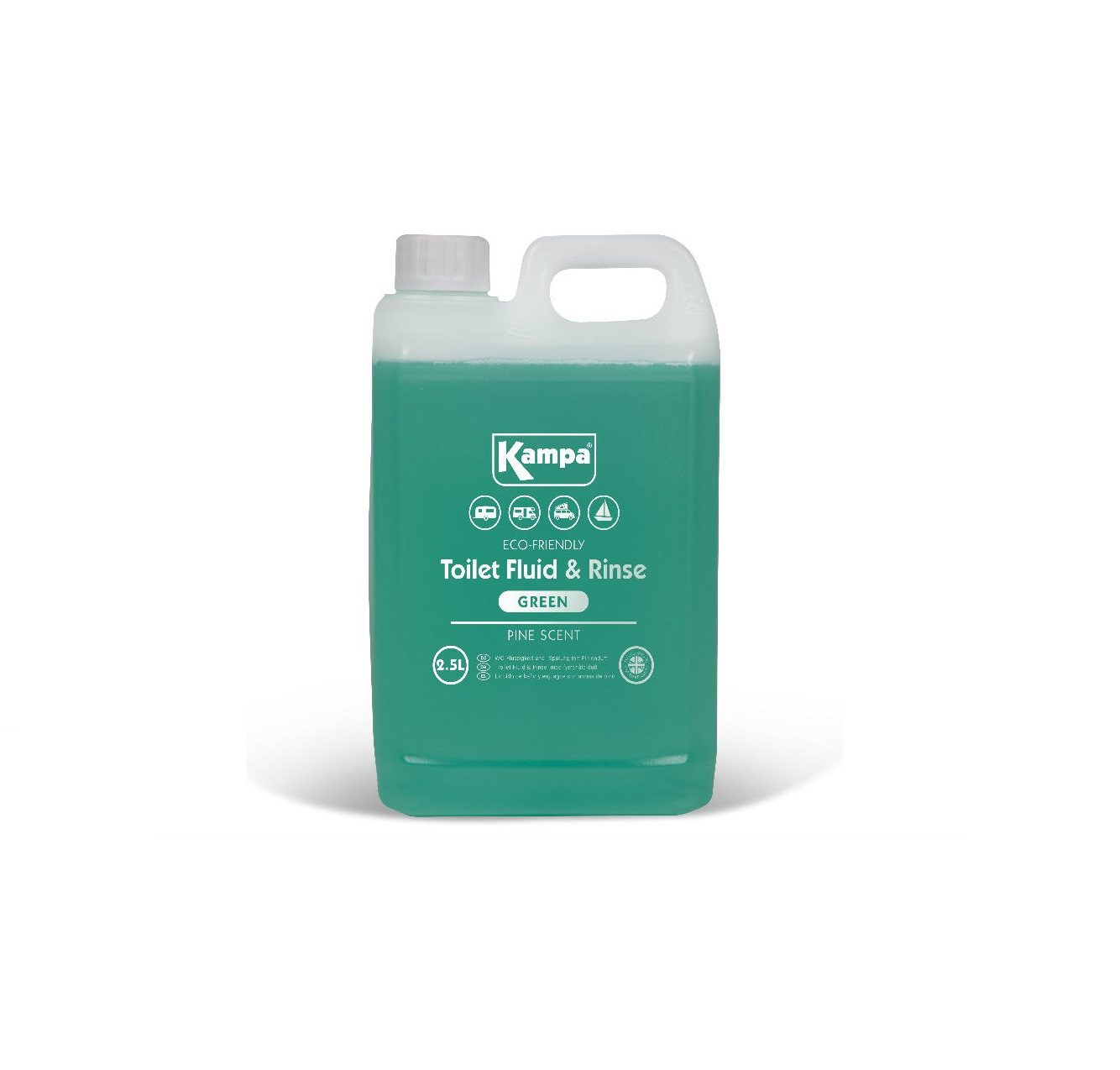 kampa toilet fluid and rinse 2.5