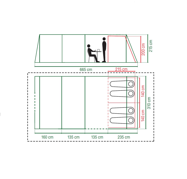 Weathermaster 4XL Floor Plan
